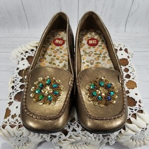 BC Footwear Shine On moccasin style loafer